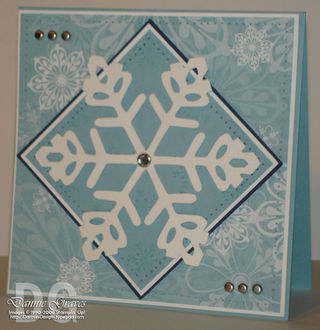 Snowflake swap card
