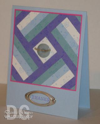 DCBD112 Quilt card