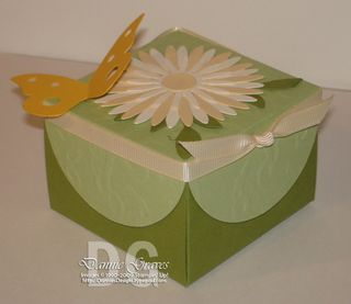 Big Shot Butterfly Box Side