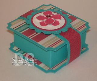 Blue ghirardelli box