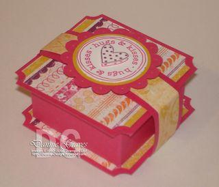 Pink ghirardelli box