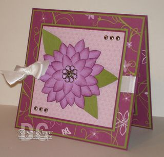 5-petal flower card