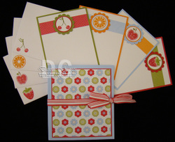 Note_card_holder_and_contents